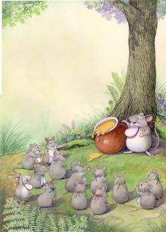 Wendy Rasmussen - professional children's illustrator, view portfolio