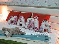Pillow Letter MARIA 22cm