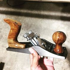 #repost by @handmadewithashley ⠀ I went to Harbor Freight for clamps and walked out with this bench plane. I watched a couple YouTube videos where people showed how to give it a little TLC. I'll give that a try too.⠀ ⠀ This Windsor Design No. 33 Bench Plane (item 97544) $14.99 has a rugged high carbon steel cutter for general purpose work. The cutter is easily adjusted for depth of cut. Features include well finished hardwood handles with brass fittings for comfort and control.⠀ .⠀ .⠀ .⠀ .⠀…
