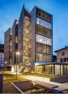Galeria de Edifício de apartamentos em Lugano / SPBR Arquitetos + Baserga Mozzetti Architetti - 37
