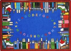Choose Demco for all your library supplies! Enjoy superior customer service & more than products including security labels, book carts and library furniture. Reading Corner Classroom, Classroom Carpets, Childrens Rugs, Library Furniture, Kids Play Area, Preschool Classroom, Learn To Read, Elementary Schools, Kids Playing