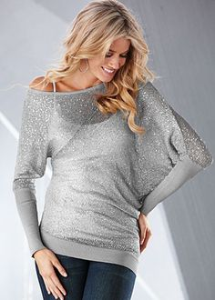 Sparkling sweater for the holidays