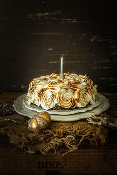 Ginger Cake with Meringue | Sugar et al