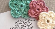 Buen Día el día de hoy quiero compartir con ustedes flores 🌺 en crochet al andar en internet me encontré con estas lindas flores pueden ser... Crochet Stitches, Internet, Throw Pillows, Small Flowers, Crochet Flowers, Toss Pillows, Cushions, Decorative Pillows, Decor Pillows