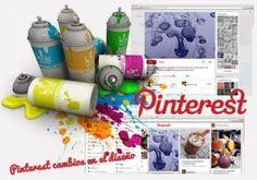 Pinterest cambios en el diseño