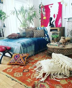 pictures of bohemian bedrooms - Bing images Decor, Room, Boho Room, Home Decor, Room Inspiration, House Interior, Bedroom Inspirations, Home Deco, Bedroom Decor