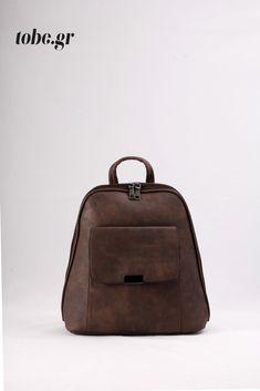 Καφέ σακίδιο πλάτης για όλες τις ώρες. Κωδ. 917.009, Τηλ. 2510 241726 Fashion Backpack, Backpacks, Bags, Handbags, Backpack, Backpacker, Bag, Backpacking, Totes