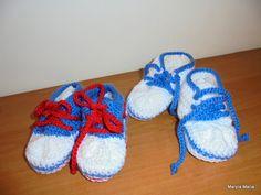 Hobby - Moje rękodzieło / szydełkowe buciki // Hobby - My hand made / crochet shoes