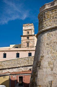 Torre e Bastione (Castello) - Cagliari, Sardinia, Italy