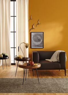 home decor yellow walls ~ home decor yellow . home decor yellow and grey . home decor yellow accents . home decor yellow walls . home decor yellow and grey living room . home decor yellow living room . home decor yellow and blue Living Room Orange, Living Room Warm Colors, Living Room Color Combination, Mustard Living Rooms, Mustard Bedroom, Yellow Interior, Color Interior, Interior Design Wall, Interior Stairs