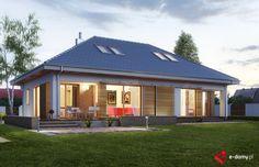 E-155 - E-DOMY.pl Projekty domów jednorodzinnych, piętrowych, energooszczędnych.