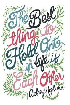 Bespoke Country Weddings - Love Quote - Audrey Hepburn