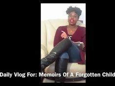 #6 Vlog Countdown for my book MEMOIRS OF A FORGOTTEN CHILD
