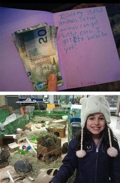 Girl Sells Her Stuffed Animals And Donates The Money To A Local Animal Shelter