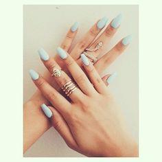 #mint #nails #manicure