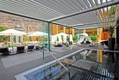 ESP: Zona exterior / EN: Exterior area. Spa Inagua (Gran Canaria).