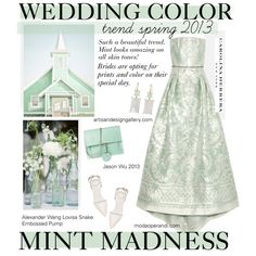 Wedding Color Trends Spring 2013, created by cutandpaste on Polyvore