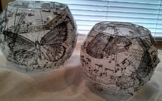 Music & Butterfly Candle Holders - ON SALE!