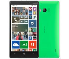 Lumia 930 light green.