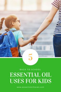 Essential Oils for Kids: How can you support your kids' back to school routine? Use essential oils! I'll show you how.