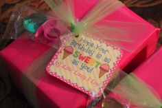 Total Tippins Takeover: easy birthday gift…. and free printable!