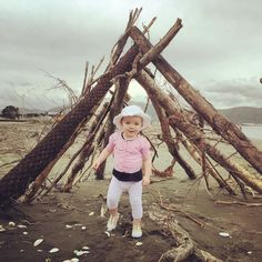 Scarlett loves the beach! #beach #summer #princess #daughter #toddler #babygirl #love #family #mylove #mybaby #baby #toddlerlife #toddlersofinstagram #petone #wellington #newzealand #