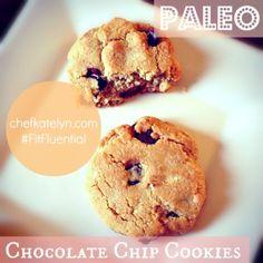 {Paleo + Primal} Chocolate Chip Cookies