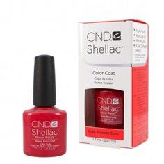 CND Shellac Rose Rocade
