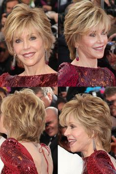 Multi-texture with subtle highlight: Subtle layering, texture and volume can diminish appearance of wrinkles and fine lines. Adding width to upper part of face with soft curls and strategic