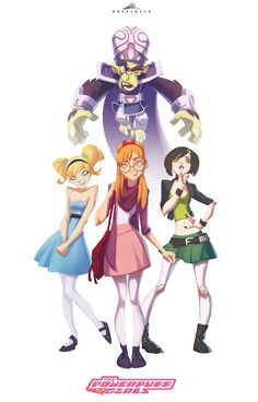 Artstation - the powerpuff girls! Cartoon Fan, Cartoon Shows, Super Nana, Ppg And Rrb, Estilo Anime, Power Girl, Character Design Inspiration, Anime Art Girl, Girl Costumes