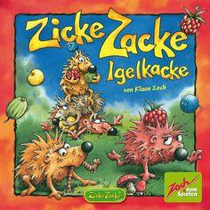 Zicke Zacke Huhnerkacke és un memory amb persecució que el fa molt divertit ja que, fins ben bé al final, qualsevol pot ser el guanyador.