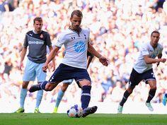 ~ Roberto Soldado of Tottenham Hotspur scoring ~