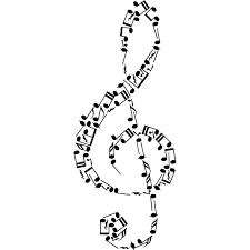 Music doodle border this will fit on 8 5 x 11 paper for Note musicali dwg