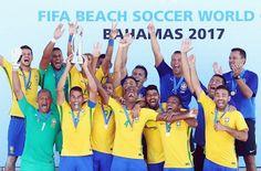 Blog Esportivo do Suíço: Brasil recupera top 1 após penta no Mundial de futebol de areia