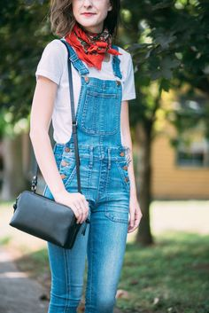 Madewell overalls, Nisolo sandals