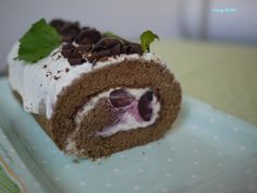 Cosy Bake: Black Forest Roll Cake
