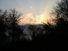 Tramonto valle del Chiampo