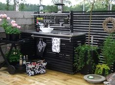 Kitchen Garden In The Kitchen Style 26 What Is Interior Design, Interior Design Pictures, Outdoor Spaces, Outdoor Living, Outdoor Decor, Pantry Inspiration, Summer Kitchen, Outdoor Kitchen Design, Outdoor Cooking