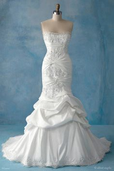 Ariel Inspired Wedding dress
