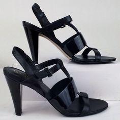 COLE HAAN NIKE AIR Women's Black PATENT leather Heels 10 narrow EXCELLENT USED #ColeHaanNikeAir #PumpsClassics