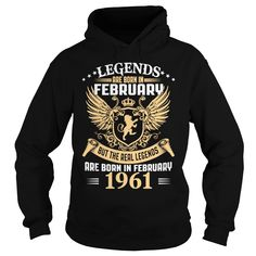 Legends Are Born In February 1961 T-Shirt_1 #gift #ideas #Popular #Everything #Videos #Shop #Animals #pets #Architecture #Art #Cars #motorcycles #Celebrities #DIY #crafts #Design #Education #Entertainment #Food #drink #Gardening #Geek #Hair #beauty #Health #fitness #History #Holidays #events #Home decor #Humor #Illustrations #posters #Kids #parenting #Men #Outdoors #Photography #Products #Quotes #Science #nature #Sports #Tattoos #Technology #Travel #Weddings #Women