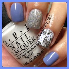 .@Susan Caron Concannon | Loving this color! It's #chinaglaze Fade into hue! Also used Glistening snow! | Webstagram - the best Instagram viewer