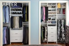After: Twice as Much Organization