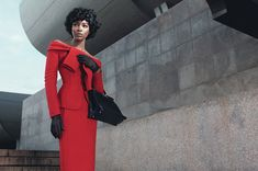 Naomi Campbell by Willy Vanderperre for W Magazine November 2013 | The Fashionography