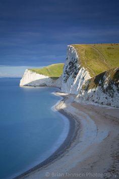 Jurassic Coast Dawn, Dorset, England. ©️️ Brian Jannsen Photography