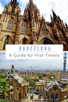 Trying to choose things to do in Barcelona, Spain? How about you Gaudi's aesthetic architecture like the Sagrada Familia, or walk the streets through the Gothic Quarter, or indulge in Sangria in Tapas in the many beach bars, restaurants and cafes. We've got all the tips for your itinerary! | #barcelona #europe #travel Europe Travel Tips, European Travel, Travel Guides, Places To Travel, Travel Destinations, Travel Goals, Europe Europe, Travel Hacks, Travel Packing