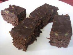 Brownies cu ciocolata si nuci (Retete Montignac)