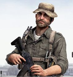 CONFESSION: Captain Price from Call Of Duty inspired my character Captain Fields lol