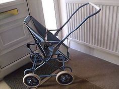 Vintage-Charlsworth-dolls-pushchair-in-blue-For-age-app-4-11yrs
