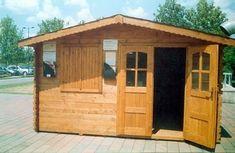 Casute din lemn & Casute de gradina Cabana, Romania, Shed, Outdoor Structures, Case, Interior, Indoor, Cabanas, Interiors